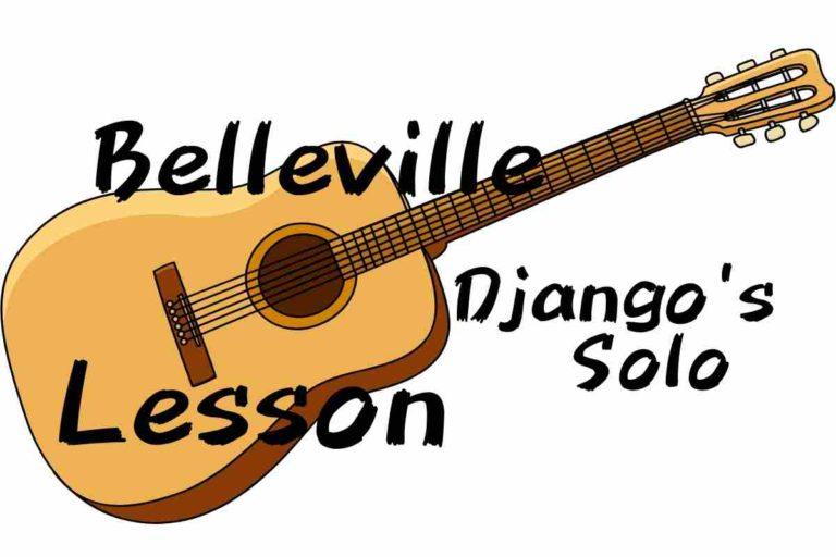 Bellevilleのレッスン