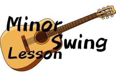 Minor Swing(マイナースウィング)リズムギターとソロのアドリブ練習