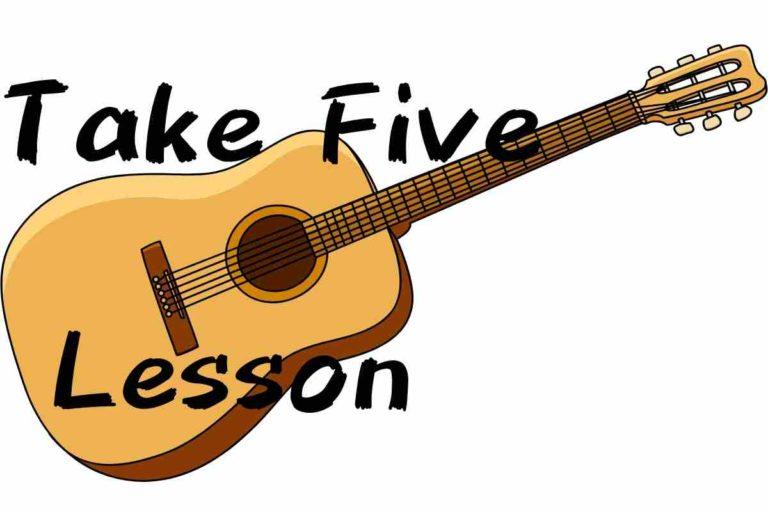 Take fiveのレッスン